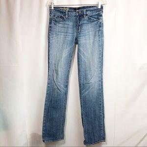 J. CREW Matchstick Straight Leg Size 27R Jeans EUC